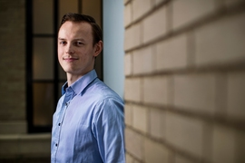 MIT senior Jakub Chudik became interested in medical technology, especially related to cancer, after his younger brother, who was a toddler at the time, was diagnosed with cancer during Chudik's first year of high school.