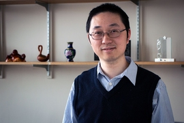 MIT professor Juejun Hu specializes in optical and photonic devices, whose applications include improving high-speed communications, observing the behavior of molecules, and developing innovations in consumer electronics.
