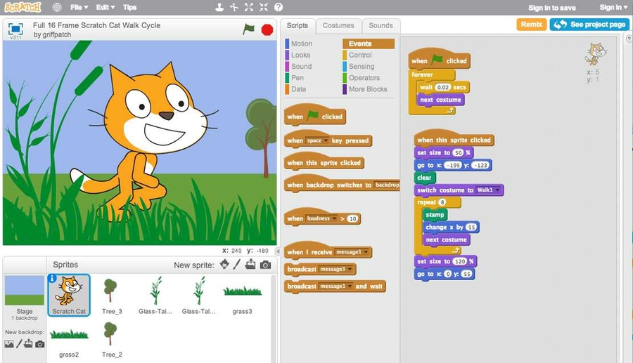Kids coding in the cloud | MIT News | Massachusetts Institute of Technology