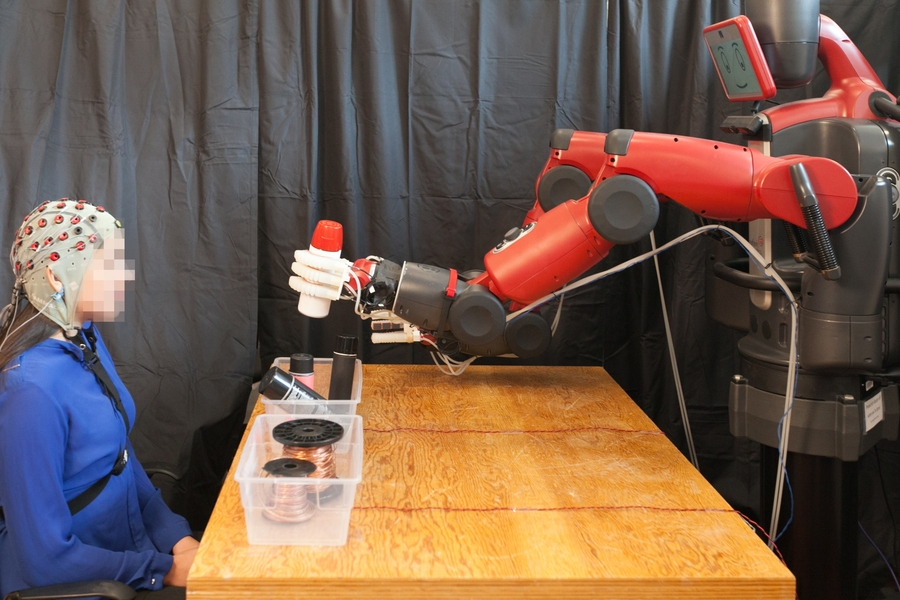 Brain-controlled robots | MIT News | Massachusetts Institute of Technology