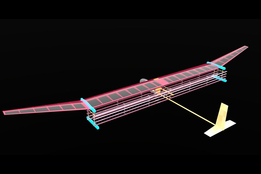 Mit Engineers Fly First Ever Plane With No Moving Parts Mit News Massachusetts Institute Of Technology