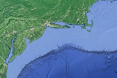 Ocean engineers from MIT, the University of Minnesota at Duluth, and the Woods Hole Oceanographic Institution have accurately simulated the motion of internal tides along a shelf break called the Middle Atlantic Bight — a region off the coast of the eastern U.S. that stretches from Cape Cod in Massachusetts to Cape Hatteras in North Carolina.