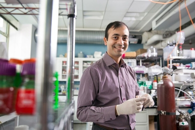 """I try to guide my research by ... asking myself the question, 'What can we do today that will have a lasting impact and be conducive to a sustainable human civilization?'"" says Rohit  Karnik, an associate professor in MIT's Department of Mechanical Engineering."