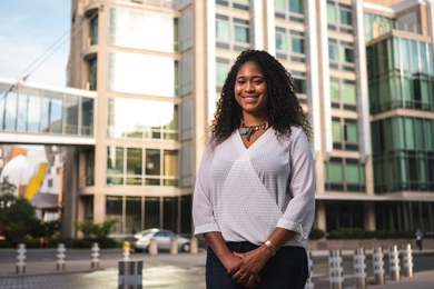 "PhD student Tsehai Grell believes the variety of MIT students' experiences and perspectives is one of the Institute's greatest qualities. ""When you don't have diversity of thought and experiences, you are missing out on a number of problems and potential solutions, especially in the research lab,"" she says."