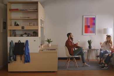 MIT Media Lab spinout Ori is developing smart robotic furniture that transforms into a bedroom, working or storage area, or large closet — or slides back against the wall — to optimize space in small apartments.