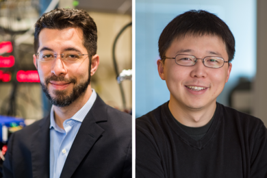 Ed Boyden (left) and Feng Zhang have been named HHMI investigators.