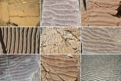 MIT researchers have found that patterns of ripples created in sand, and preserved for thousands to millions of years, can reveal clues to ancient environments.