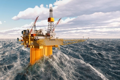 New research by MIT scientists may help engineers design more resilient offshore platforms.