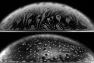 MIT researchers have found that bacteria can affect a bubble's longevity.