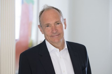 "MIT Professor Tim Berners-Lee is being honored for work on a new startup, inrupt, aimed at ""re-decentralizing the web."""
